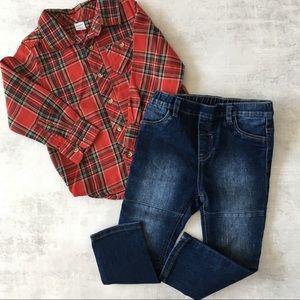 Adorable matching set for toddler boy